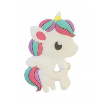 Unicorn (Large) Silicone Teether