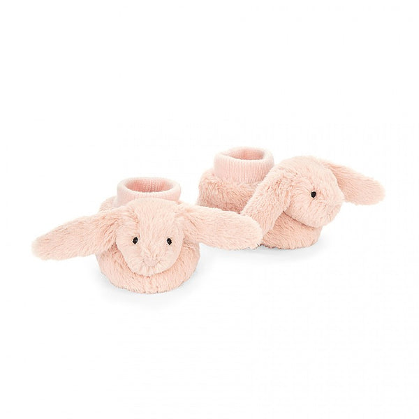Bashful Light Pink Bunny Booties