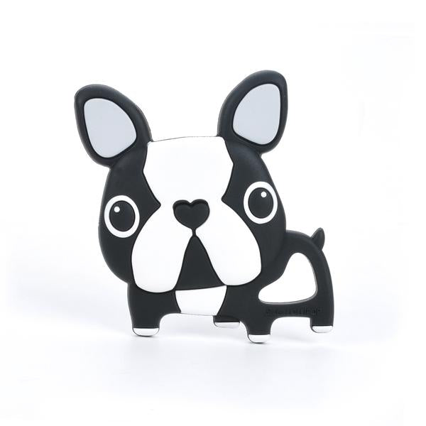 Black Terrier Silicone Teether