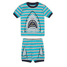 Two Piece Shark Printed Pajama