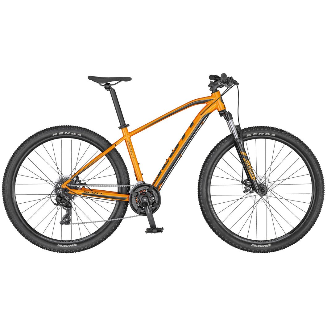 Scott Aspect 970 Orange/Grey