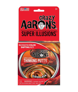 Crazy Aaron's Putty: Illusions - Super Lava 4""