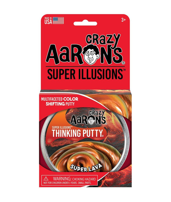 Crazy Aaron's Putty: Illusions - Super Lava 4