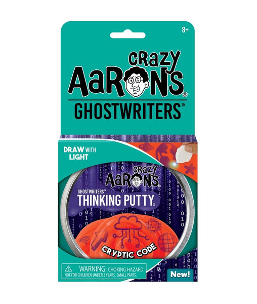 Crazy Aaron's Putty: GhostWriters - Cryptic Code 4""