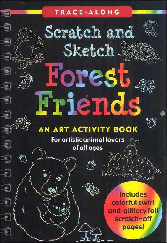 Forest Friends Scratch & Sketch