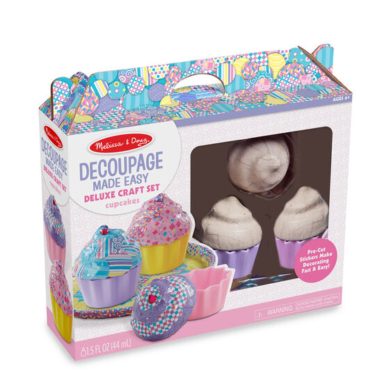Decoupage Made Easy: Cupcakes