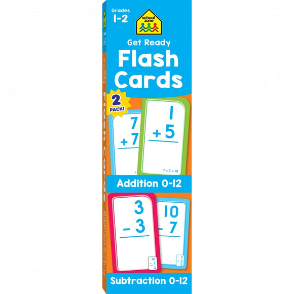 Addition & Subtraction Flash Card Set