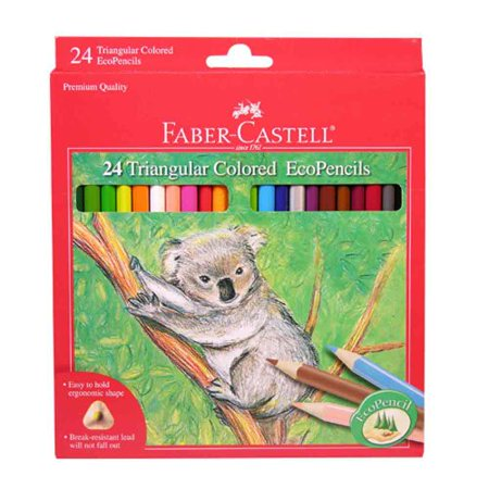 24ct Triangular Colored EcoPencil