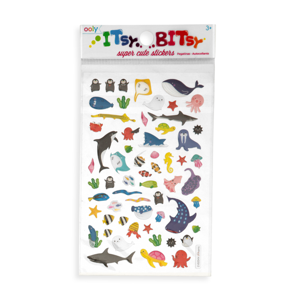 Itsy Bitsy Stickers: Marine Friends