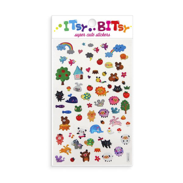 Itsy Bitsy Stickers: Animal Town