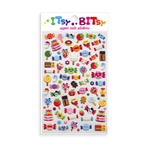 Itsy Bitsy Stickers: Candy