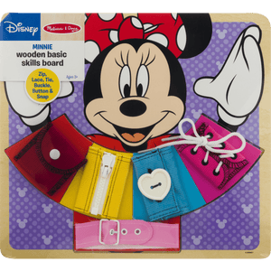 Minnie Mouse: Wooden Basic Skill Board