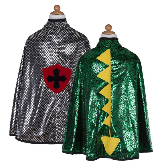 Dragon Knight Reversible Cape