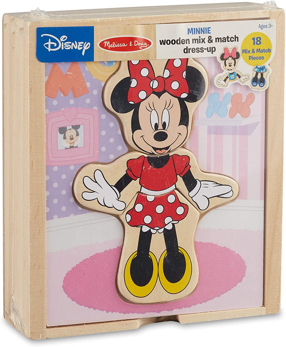 Minnie Wooden Dress Up