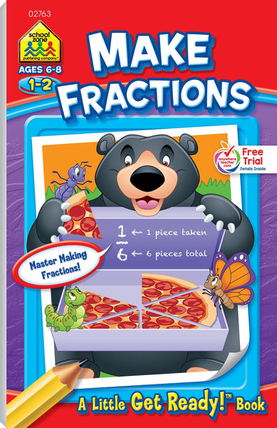 A Little Get Ready Make Fractions
