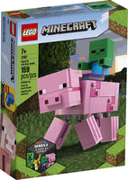 21157 BigFig Pig With Baby Zombie - Minecraft