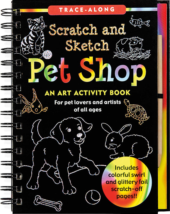 Pet Shop Scratch & Sketch