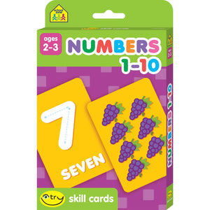 Numbers 1 -10 Ages 2-3