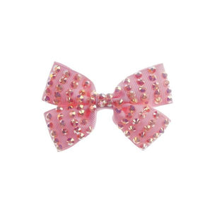 Bedazzling Beauty Bow Hair Clip