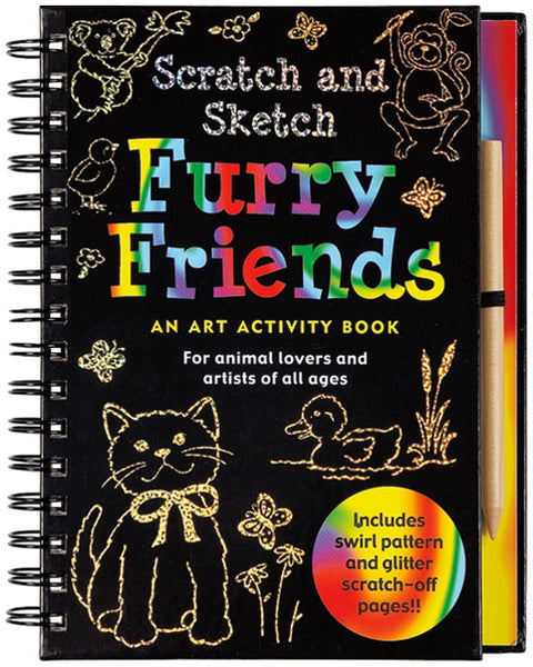 Furry Friends Scratch & Sketch