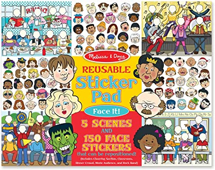 Reusable Sticker Pad - Face It!