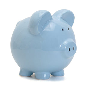 Big Ear Piggy Bank: Light Blue