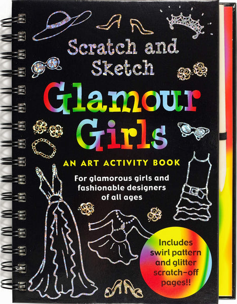Glamour Girls Scratch & Sketch