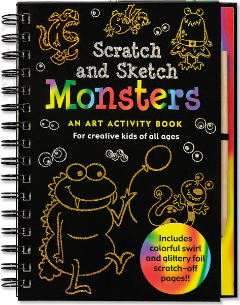 Monsters Scratch & Sketch