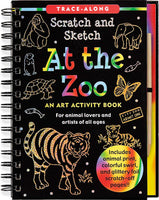 At the Zoo Scratch & Sketch