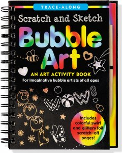 Scratch & Sketch Bubble Art