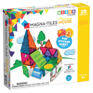 Magna-Tiles: House 28pc Set