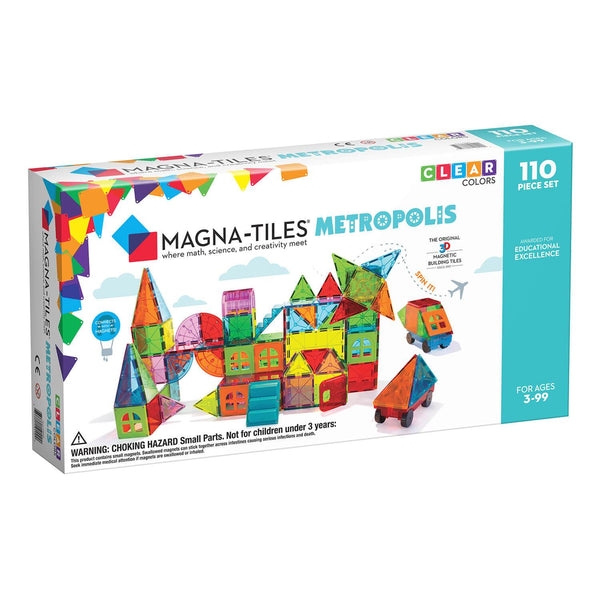 Magna-Tiles: Metropolis 110pc Set