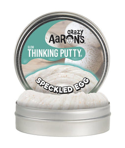 Crazy Aaron's Putty: Glow - Speckled Egg 4""