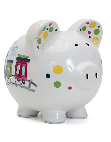 Choo Choo Piggy Bank