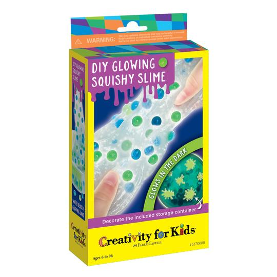 DIY Glowing Squishy Slime