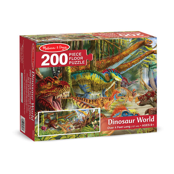 Dinosaur World Floor Puzzle - 200 Piece