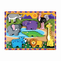 Safari Chunky Puzzle: 8 Pieces