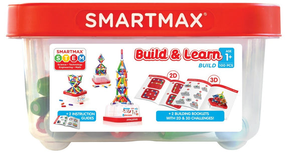 SmartMax Build & Learn Tub - 100pc