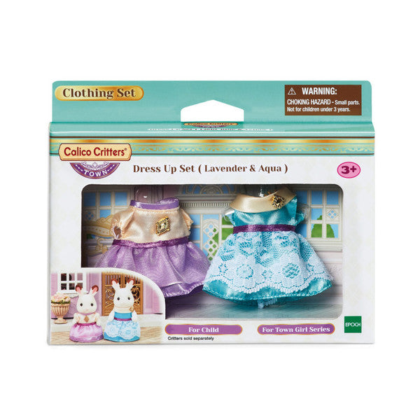 Dress Up Set (Lavender & Aqua)