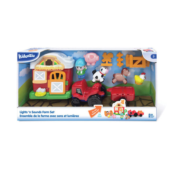 Lights 'n Sounds Farm Playset