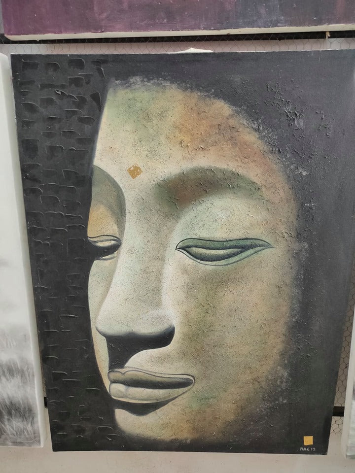 Best Buddha oil painting