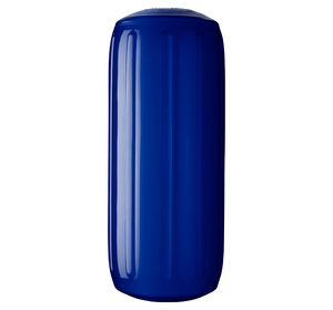 Cobalt Blue boat fender with a center tube or hole through middle, Polyform HTM-2 Cobalt Blue