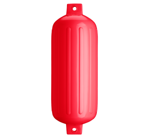 Red boat fender, Polyform G-6 Red