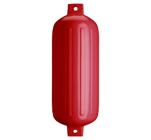 Classic Red boat fender, Polyform G-6 Classic Red