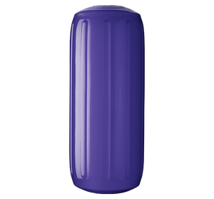 Purple boat fender with a center tube or hole through middle, Polyform HTM-2 Purple