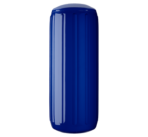 Cobalt Blue boat fender with a center tube or hole through middle, Polyform HTM-3 Cobalt Blue