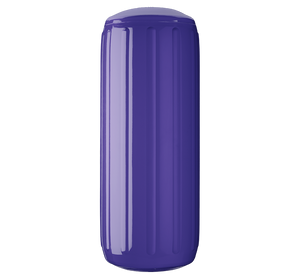 Purple boat fender with a center tube or hole through middle, Polyform HTM-3 Purple