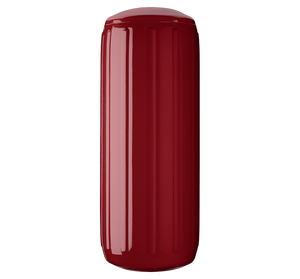 Burgundy boat fender with a center tube or hole through middle, Polyform HTM-3 Burgundy
