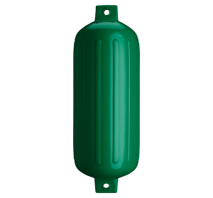 Forest Green boat fender, Polyform G-6 Forest Green