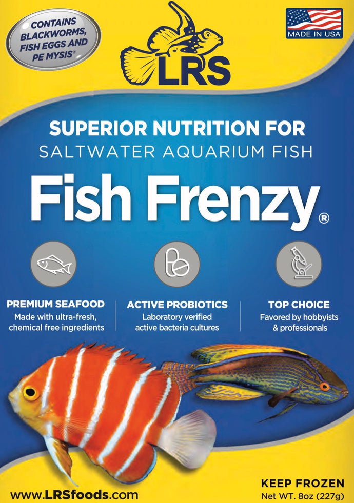 LRS Fish Frenzy 8 Oz
